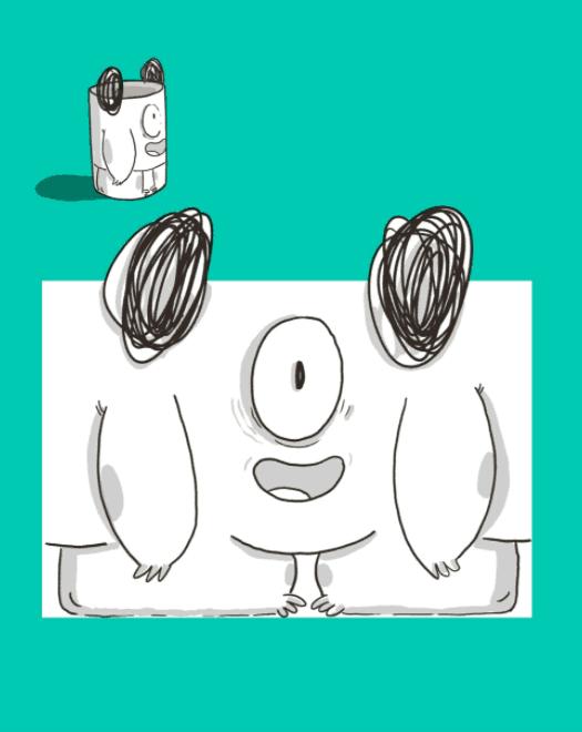Pintaca Monstrous DIY Dolls - Upcycling Toilet Paper Rolls